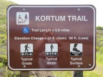 Kortum Trail sign