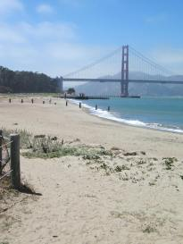 More beach and Golden Gate