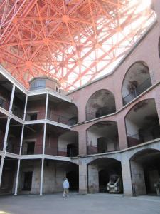 Inside Fort Point
