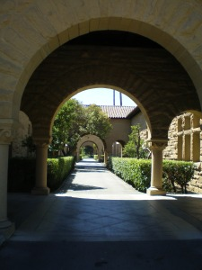 Stanford courtyard