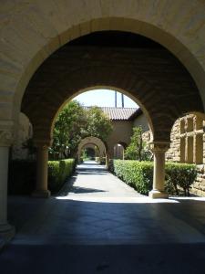 Stanford courtyard