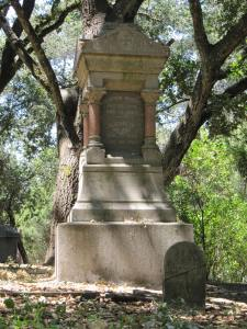 Rural Cemetery Wright Monument