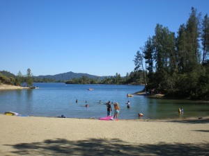 Oak Bottom Beach at Whiskeytown Lake
