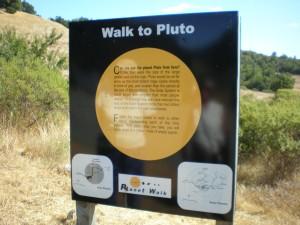 Planet Walk near Ferguson Observatory