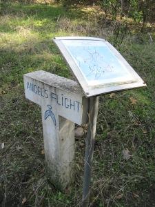 Bartholomew Park trail markers