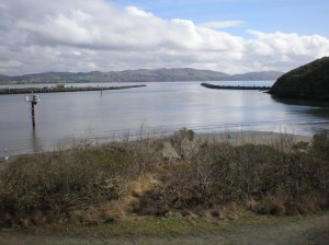 Channel from Harbor to Bodega Bay