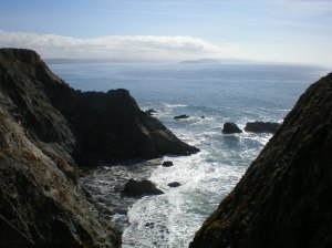 Rock to Ocean view from Bodega Head