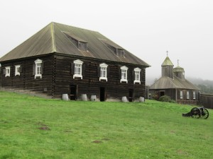 Fort Ross Buildings (replicas)