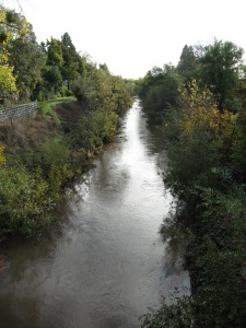 Santa Rosa Creek at Fulton