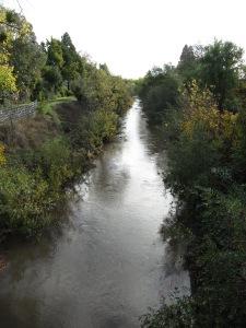 Santa Rosa Creek at Fulton