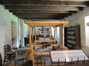 Weaving Room in Petaluma Adobe