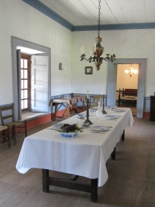 Petaluma Adobe Dining Room