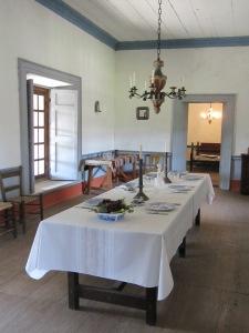 Petaluma Adobe Dining Room