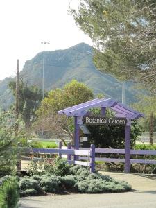 San Luis Obispo Botanical Garden Entrance