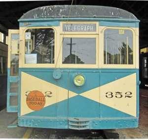 Western Railway Museum streetcar
