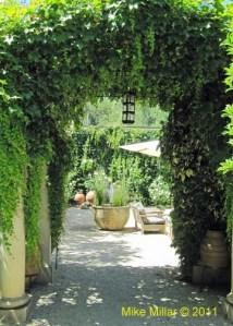 Courtyard Chateau St. Jean