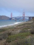 Baker Beach and Golden Gate Bridge