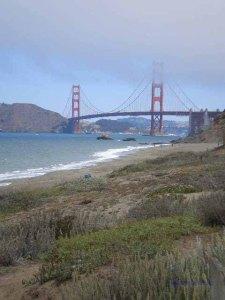 Baker Beach and Golden Gate Bridge