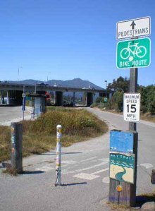 Bay Trail Entrance