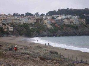 Baker Beach and Sea Cliff San Francisco