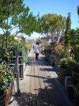 Sausalito Floating Homes - long dock