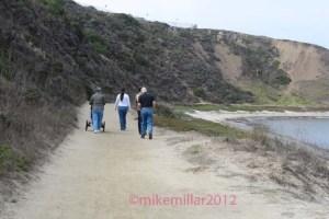 Pillar Point walkers