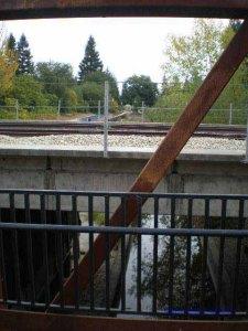 Bridge and Rail Cross Santa Rosa Creek
