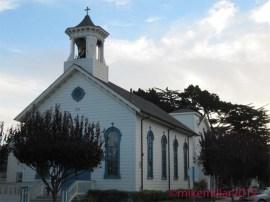 Half Moon Bay church