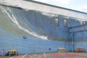 Half Moon Bay Mural of Mavericks