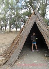 Native American Village Tolay Lake