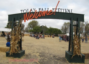 Tolay Lake Festival Gate