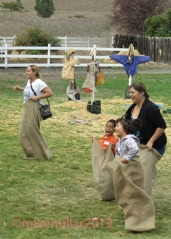 Tolay Festival Sack Race