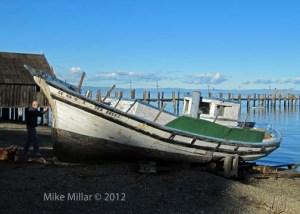 China Camp Village boat