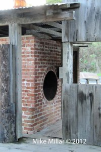 China Camp Village brick oven