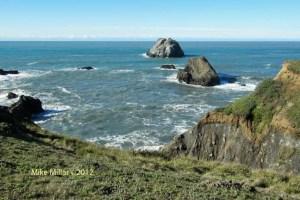 Kortum Trail cliffside