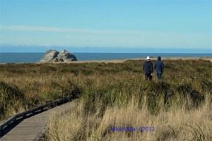 Kortum Trail walkers