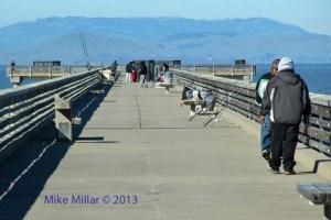 Pt Pinole fishing pier