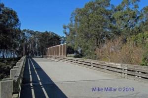 Pt Pinole train overpass