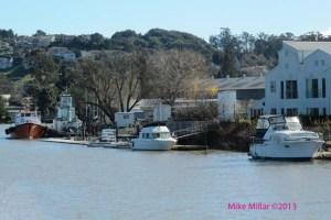 Petaluma River boats