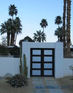 Palm Springs Modernism Week Las Palmas Entrance