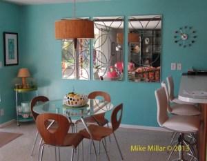 Palm Springs Modernism Week Royal Hawiian Living Room