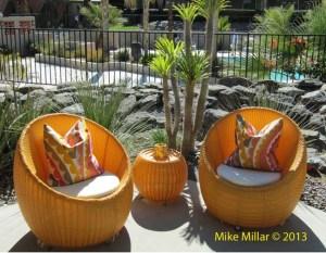Palm Springs Modernism Week Royal Hawaiin Patio