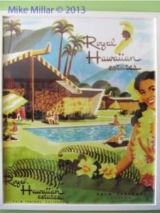 Royal Hawaiian Estates Poster