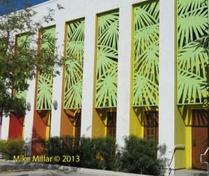 Palm Springs Modernism Week Saguro Exterior