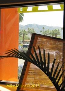 Palm Springs Modernism Week Saguro Window