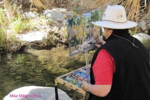 Andreas Canyon Pastel Artist