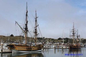 Tall Ships in Bodega Harbor