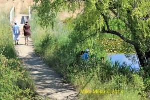 Walking Fishing Healdsburg Ridge
