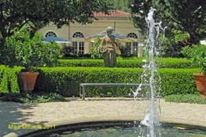 Winery Gardens Chateau St Jean Fountain