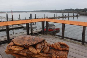 Bandon Crab Sculpture